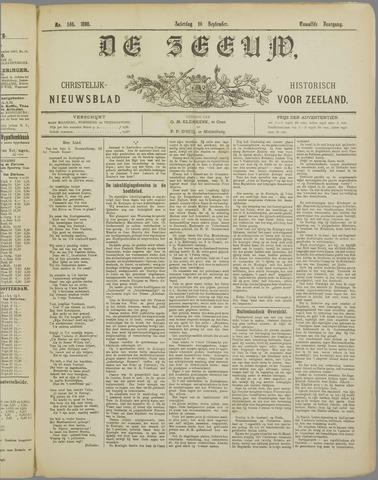De Zeeuw. Christelijk-historisch nieuwsblad voor Zeeland 1898-09-10