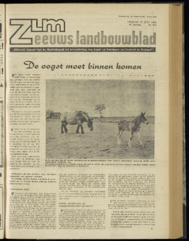 Zeeuwsch landbouwblad ... ZLM land- en tuinbouwblad 1962-07-27