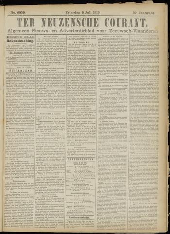 Ter Neuzensche Courant. Algemeen Nieuws- en Advertentieblad voor Zeeuwsch-Vlaanderen / Neuzensche Courant ... (idem) / (Algemeen) nieuws en advertentieblad voor Zeeuwsch-Vlaanderen 1919-07-05