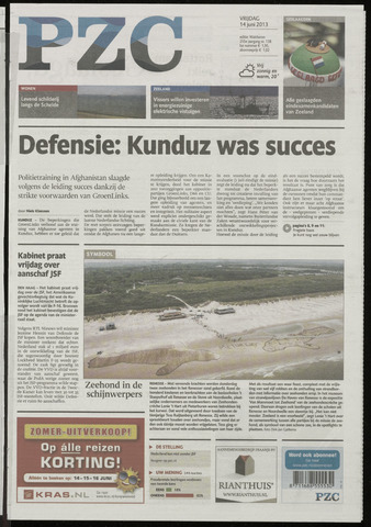 Provinciale Zeeuwse Courant 2013-06-14