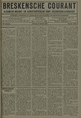 Breskensche Courant 1920-02-21