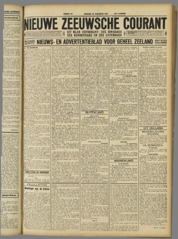 Nieuwe Zeeuwsche Courant 1927-08-30