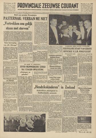 Provinciale Zeeuwse Courant 1958-11-03