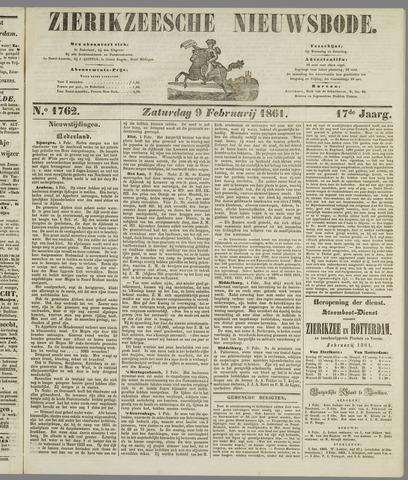 Zierikzeesche Nieuwsbode 1861-02-09
