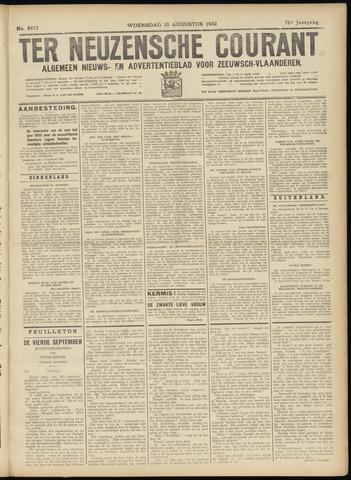 Ter Neuzensche Courant. Algemeen Nieuws- en Advertentieblad voor Zeeuwsch-Vlaanderen / Neuzensche Courant ... (idem) / (Algemeen) nieuws en advertentieblad voor Zeeuwsch-Vlaanderen 1932-08-10