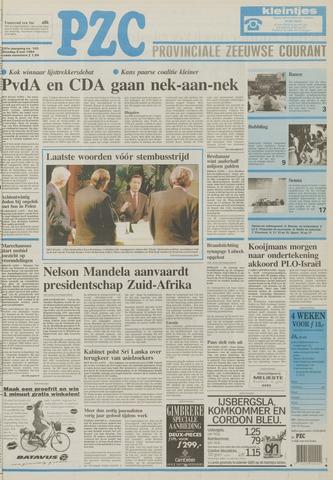 Provinciale Zeeuwse Courant 1994-05-03