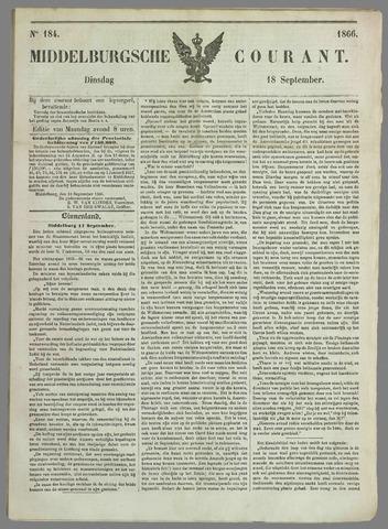 Middelburgsche Courant 1866-09-18