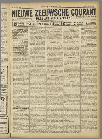 Nieuwe Zeeuwsche Courant 1922-08-10