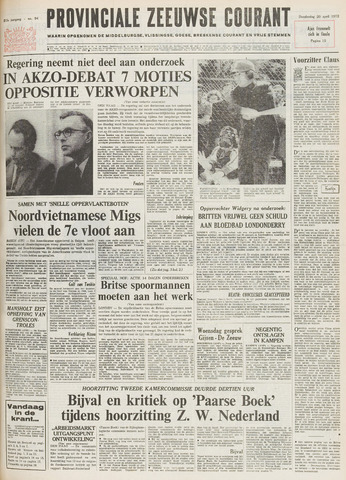 Provinciale Zeeuwse Courant 1972-04-20