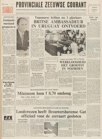 Provinciale Zeeuwse Courant 1971-01-09