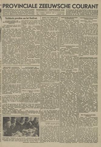 Provinciale Zeeuwse Courant 1943-09-01