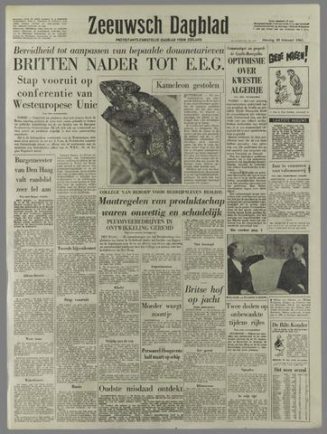 Zeeuwsch Dagblad 1961-02-28