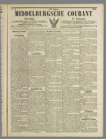 Middelburgsche Courant 1906-02-17