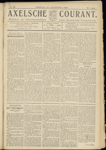 Axelsche Courant 1935-08-16