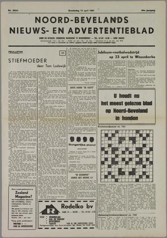 Noord-Bevelands Nieuws- en advertentieblad 1981-04-16
