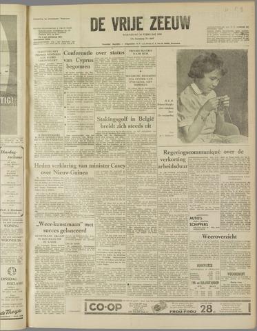 de Vrije Zeeuw 1959-02-18