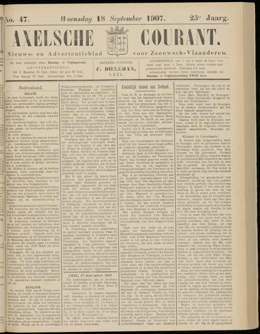 Axelsche Courant 1907-09-18