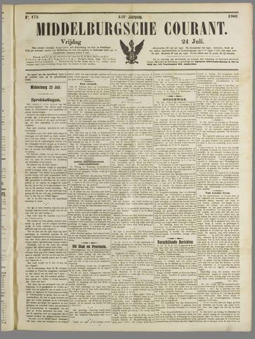 Middelburgsche Courant 1908-07-24