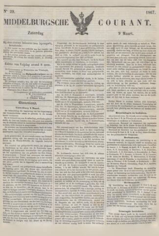 Middelburgsche Courant 1867-03-09