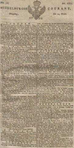 Middelburgsche Courant 1775-03-14