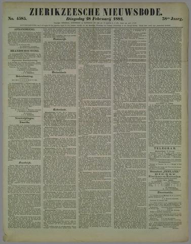Zierikzeesche Nieuwsbode 1882-02-28