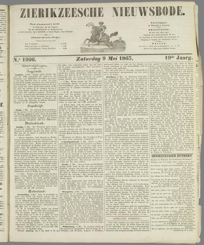 Zierikzeesche Nieuwsbode 1863-05-09