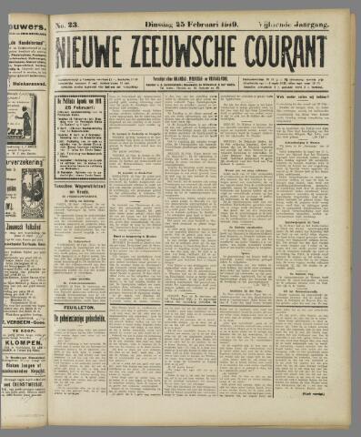 Nieuwe Zeeuwsche Courant 1919-02-25