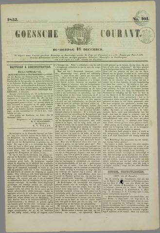 Goessche Courant 1852-12-16