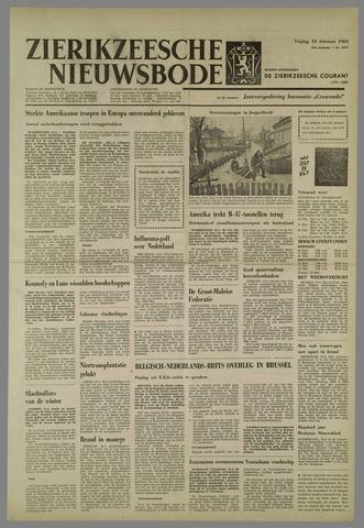 Zierikzeesche Nieuwsbode 1963-02-15