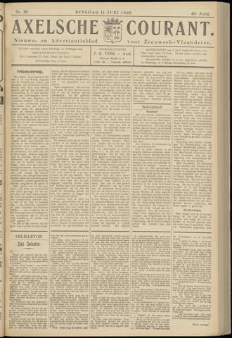 Axelsche Courant 1929-06-11