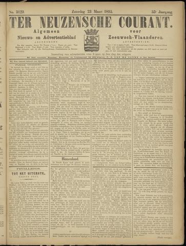 Ter Neuzensche Courant. Algemeen Nieuws- en Advertentieblad voor Zeeuwsch-Vlaanderen / Neuzensche Courant ... (idem) / (Algemeen) nieuws en advertentieblad voor Zeeuwsch-Vlaanderen 1895-03-23