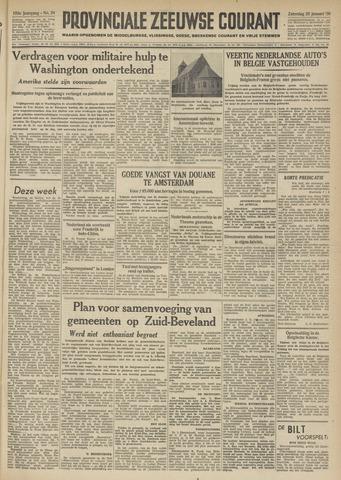 Provinciale Zeeuwse Courant 1950-01-28