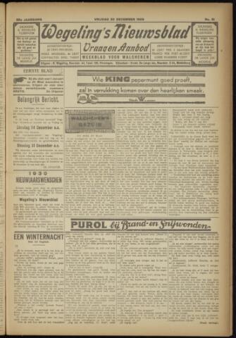 Zeeuwsch Nieuwsblad/Wegeling's Nieuwsblad 1929-12-20