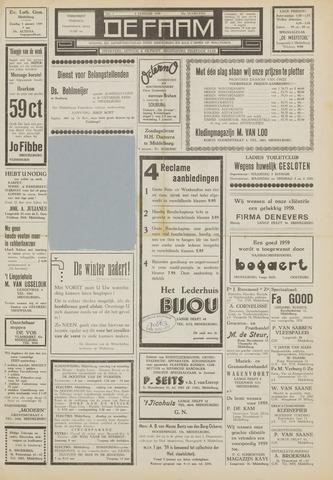 de Faam en de Faam/de Vlissinger 1959