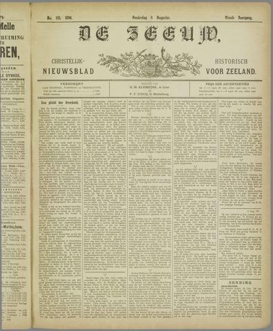 De Zeeuw. Christelijk-historisch nieuwsblad voor Zeeland 1896-08-06