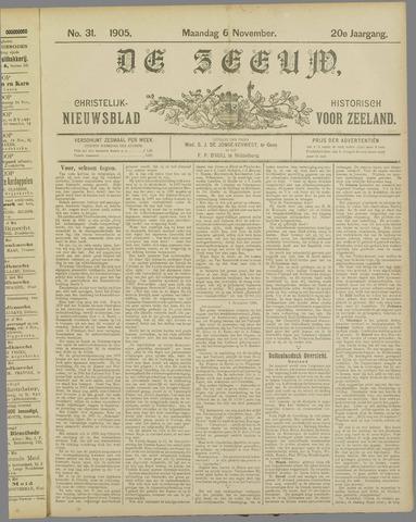De Zeeuw. Christelijk-historisch nieuwsblad voor Zeeland 1905-11-06
