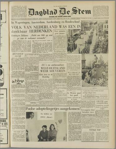 de Stem 1955-05-06