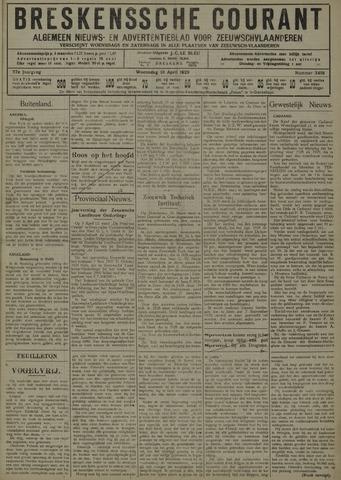 Breskensche Courant 1929-04-10