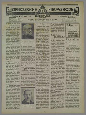 Zierikzeesche Nieuwsbode 1941-01-27