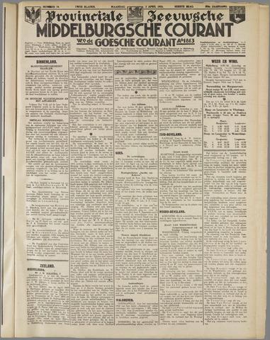 Middelburgsche Courant 1933-04-03