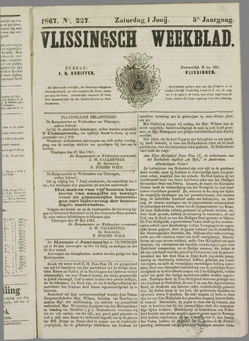 Vlissings Weekblad 1867-06-01