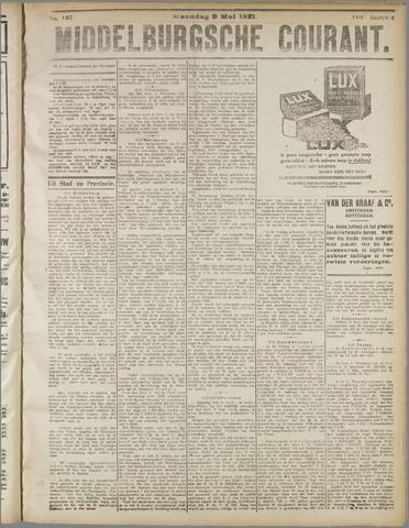 Middelburgsche Courant 1921-05-09