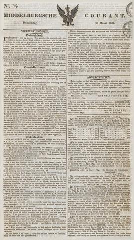 Middelburgsche Courant 1834-03-20