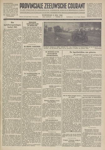 Provinciale Zeeuwse Courant 1941-07-09