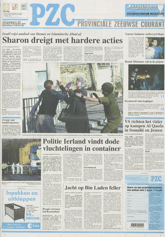 Provinciale Zeeuwse Courant 2001-12-10