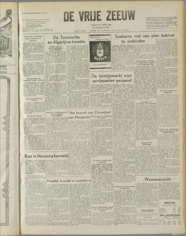 de Vrije Zeeuw 1958-04-11