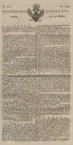 Middelburgsche Courant 1775-09-23