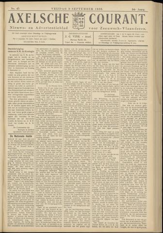 Axelsche Courant 1938-09-09