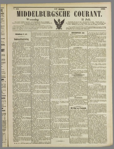 Middelburgsche Courant 1906-07-11