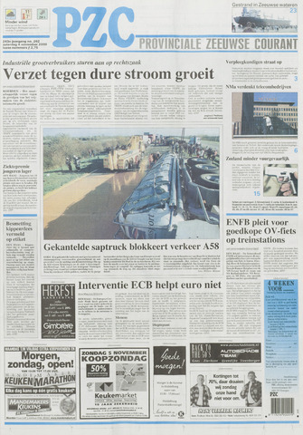 Provinciale Zeeuwse Courant 2000-11-04